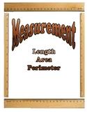 Measurement Lesson Unit - Length, Area, and Perimeter