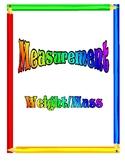 Measurement Lesson Unit - Weight/Mass