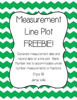 Measurement Line Plot FREEBIE!!!