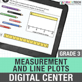 3rd Grade Measurement & Fractions on Line Plots - Power Point & Google Version