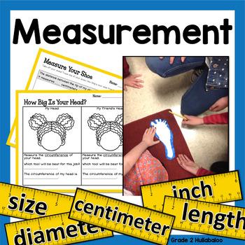Measurement -- Linear Measurement for 2nd Grade