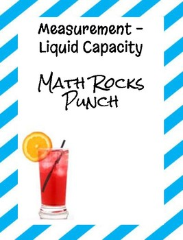 Measurement-Liquid Capacity Math Rocks Punch