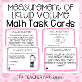 3rd Grade Measurement: Liquid Volume Task Cards | Liquid V