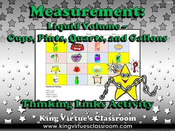 Measurement: Liquid Volume Thinking Links Activity #2 Gall