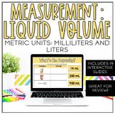Measurement: Liquid Volume in Metric Units | Virtual learning | Google