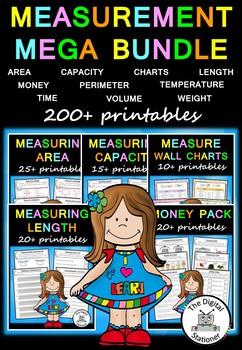 Measurement MEGA Bundle – 200+ printables