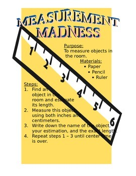 Measurement Madness