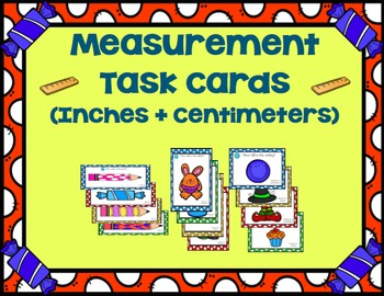 Measurement Madness! - 4 Common Core Aligned Math Stations for 1st-3rd Grade!