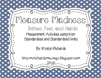 Measurement Madness: Inches, Feet, Yards