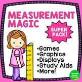 Math Worksheets Measurement Magic Super Pack
