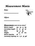 Measurement Mania Activity