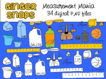 Measurement Mania Clip Art Set