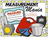 {Measurement Mania} Kindergarten and First Grade Math