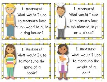 {Measurement Mania} Kindergarten and First Grade Math