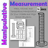 Measurement Manipulative to Better Understand Mass, Temperature, and Volume