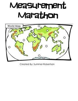Measurement Marathon Continent and Oceans Edition