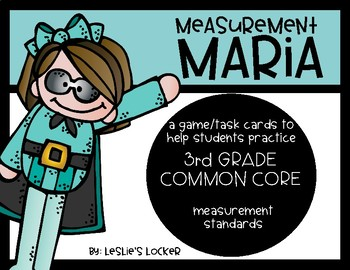 Go Math! 3rd Grade Measurement Game