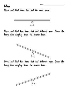 Measurement - Mass