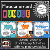 Measurement - Mass, Volume, Measure to 1/4 Inch Games and Printables