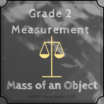 Measurement - Mass of an Object
