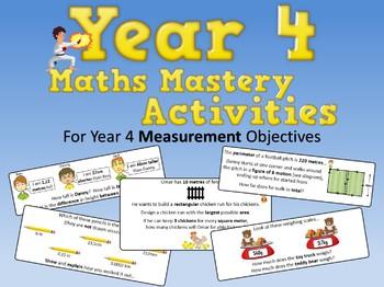Measurement Mastery Activities – Year 4