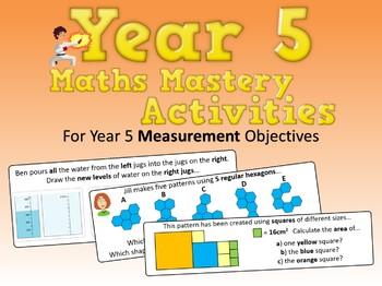 Measurement Mastery Activities – Year 5