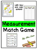 Measurement Match Game