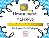 Measurement Match-Up Card Game