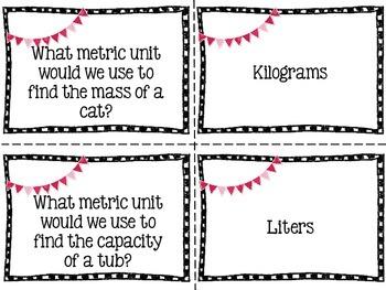Measurement Matching Game