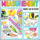 Measurement Math Center Activities for Kindergarten