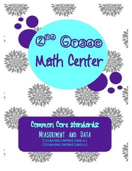 Measurement Math Center Winter Theme *Freebie*