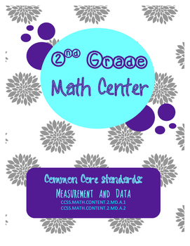 Measurement Math Center Winter Theme