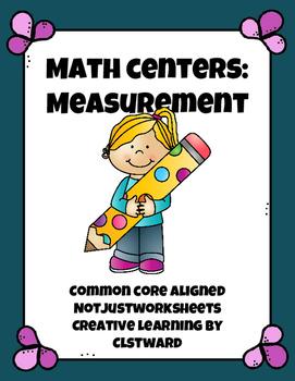 Measurement Math Centers