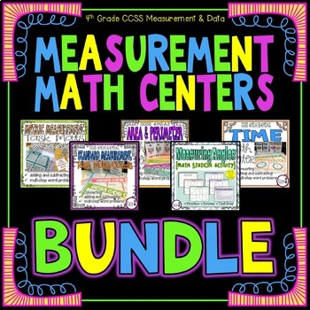 Measurement Math Centers BUNDLE