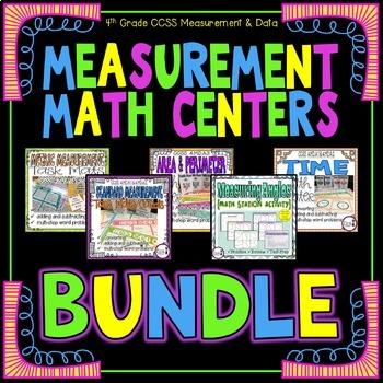 Measurement Math Centers BUNDLE