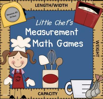 Measurement Math Games & Activities (Common Core)