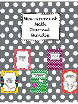 Measurement Math Journal BUNDLE