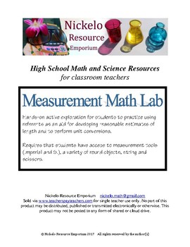 Measurement Math Lab