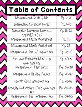 Measurement Notebook