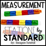 Measurement Math Stations First Grade