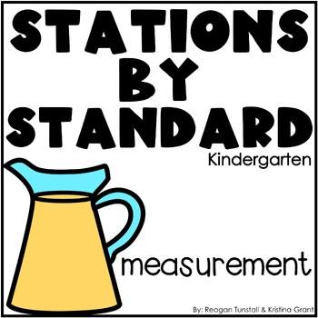 Measurement Math Stations Kindergarten