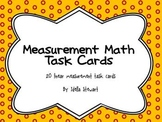 Measurement Math Task Cards