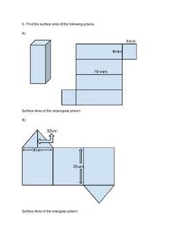Measurement Math Test