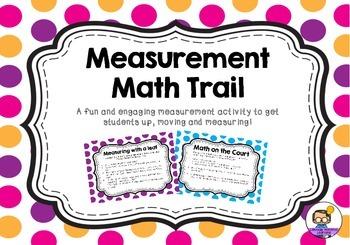 Measurement Math Trail Activity