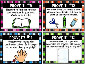 Measurement Math Unit ~ First Grade
