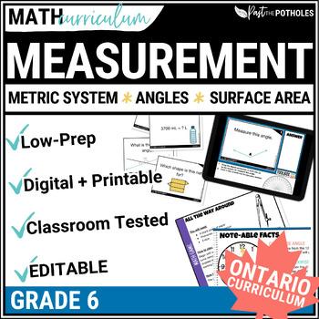Measurement Math Unit - complete unit