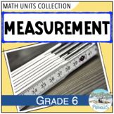 Measurement Math Unit - complete unit