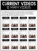 Measurement Math Video and Worksheet Bundle