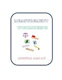 Measurement: Maths  Measuring Length & Height Worksheets :