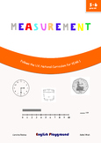 Measurement - Maths Workbook for 5 and 6 years old - Compatible with Year 1 UK
